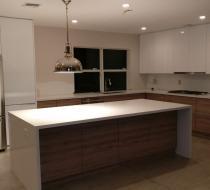 Custom Kitchen Cabinet Flat Style - Miami Beach