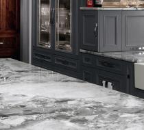Custom Kitchen with Luxury Countertop